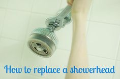DIY Renters Solutions: How to Replace a Showerhead