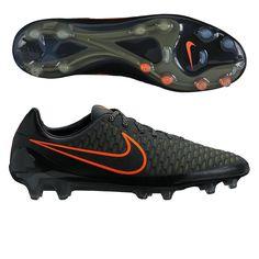 0fa8054e1d9f Nike Magista Opus FG Soccer Cleats (Black Rough Green) Nike Soccer