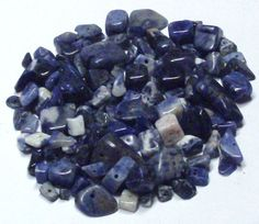 Lot of Sodalite Stone Chips and Nuggets by BeadsFromHaven on Etsy, $5.10