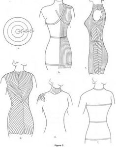 Fashion Incubator » Blog Archive » Saran wrap pattern making method #1