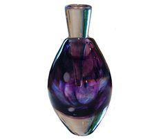 Nikki Thompson purple scent bottle