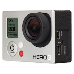 GoPro HERO3 White Edition Camcorder (CHDHE-301)