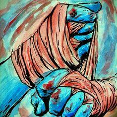 Muay Thai art Muay Thai, Art Sketches, Art Drawings, Boxing Girl, Boxing Quotes, Thai Art, Mixed Martial Arts, Art Plastique, Girls Be Like