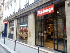 Malongo Cafe | 50 Rue St André des Arts | 75006 | Paris France I go there every morning!