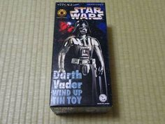 Star Wars Darth Vader Osaka Tin Toy Institute Figure Import Japan 830