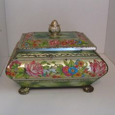 Harry Vincent Limited Tin  Blue Bird Confectionery by GraniAttic, $35.00