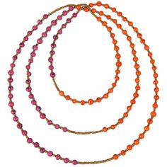 The Andean Collection Best Seller: Colorblock Rope Necklace $48