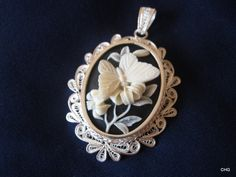 Handmade Silver Filigree Pendant