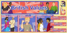 British Values Display Pack- British Values Display Pack * NEW * British Values Display Pack - britishvalueseyfs British Values Eyfs, British Values Display, School Plan, Pre School, Parenting Teens, Parenting Hacks, Prevent Duty, Abc Nursery, Positive Discipline