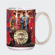 Ceramic Mug Spoontiques Beatles Mugs Lonely Heart, The Beatles, Coffee Mugs, Stuffed Peppers, Ceramics, Band, Sgt Pepper, Tableware, Gifts