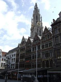 Been there! // The Main Market Square of Antwerp //this brings back some funny memories!