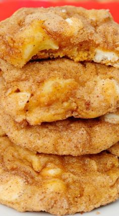 Pumpkin Apple Snickerdoodles Made 10/22/14 - umm yeah... You're going to want to double these!