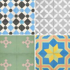 tiles from mosaic house featured on magpie fields blog