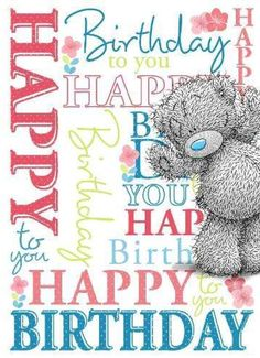 Happy birthday to all of us that share a September birthday! Hope you check out… Best Birthday Quotes, Happy Birthday Pictures, Happy Birthday Greetings, Birthday Messages, Happy Birthday Me, It's Your Birthday, Birthday Clips, Birthday Blessings, Tatty Teddy