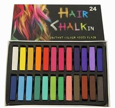 24 Colors/set Hair Chalk