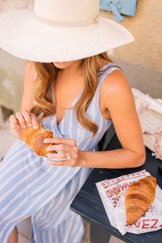 Gal Meets Glam Oppede, Menerbes & Bonnieux, Provence - Privacy Please dress & Cuyana hat