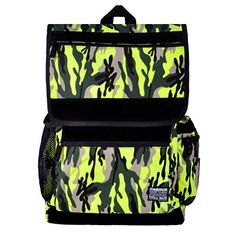 Unisex Neon Green Camouflage Multicolored Bohemian Casual Canvas Backpack Day Pack Laptop Bag (Neon green) ZLYC http://www.amazon.co.uk/dp/B00LWYSVTU/ref=cm_sw_r_pi_dp_YjpYtb057YZYRTX2