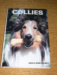 "RARE COLLIE DOG BOOK BY McCARTY 1ST 1980 ""COLLIES"" 125 PAGES COLLIES ILLUSTRATED"
