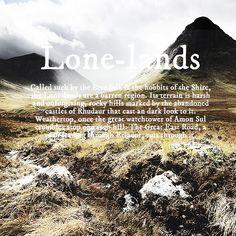 Lone-lands #tolkien