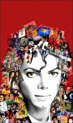 <3 Michael Jackson <3 - pictures are of Michael or his album covers - love it :)