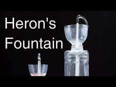 Make Non-Stop Heron's Fountain using Plastic Bottle | DIY Water Fountain - YouTube