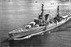 HMS Achilles was a Leander-class light cruiser of the British Royal Navy.