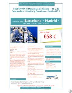Oferton  Maravillas de Atenas---21 y 28 Septiembre---Madrid y Barcelona--Desde 658 € ultimo minuto - http://zocotours.com/oferton-maravillas-de-atenas-21-y-28-septiembre-madrid-y-barcelona-desde-658-e-ultimo-minuto/