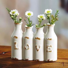 Love Mini Vase