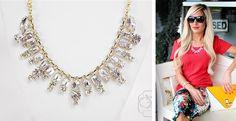 J.Crew Inspired Crystal Baguette Necklace!