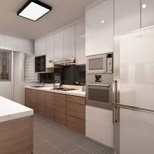 singapore interior design kitchen modern classic kitchen partial open ile ilgili görsel sonucu