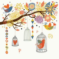 cute-birds-vector-material_34-35135.jpg (626×626)