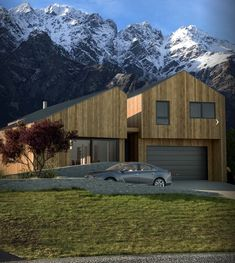 Need a Quality Builder for a New Home or Renovation in Queenstown? To build the home you've been dreaming of contact Ferguson Builders. This Is Us, New Homes, Architecture, Drawings, Building, Design, Arquitetura, Buildings, Drawing