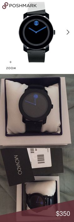 Movado watch men's New never wore lost the receipts before I could return it Movado Accessories Watches