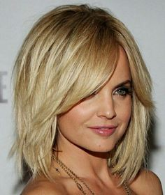 Medium Length Hairstyles With Bangs | Many| Many times you cut or trim your hair in layers to create beautiful bangs or fringes at the front for a chic and elegant look. Description from hair-styles-haircuts.net. I searched for this on bing.com/images