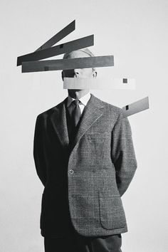 Portrait of Bruno Munari by Aldo e Marirosa Ballo (1956)