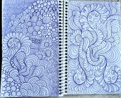 drawings of fillers. Doodles are the best way to practice a movement, and to keep the idea of what you want to do.