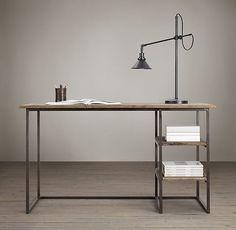"http://www.modelhomekitchens.com/category/Desk-Lamp/ Fulton Desk 55""W x 23¾""D x 30¾""H  $640"