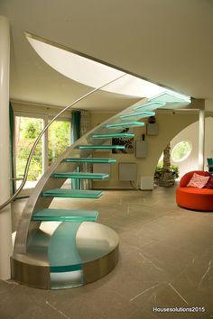 Stilvoll , Stilbewusst,,geschmackvoll, Und Harmonisch. Modern Staircase,  Grand Staircase,