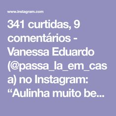 """341 curtidas, 9 comentários - Vanessa Eduardo (@passa_la_em_casa) no Instagram: """"Aulinha muito bem explicada desse ponto que fica lindo!!!😍. . . . 👉🏽By @handcraft5555 . . . .…"""""""