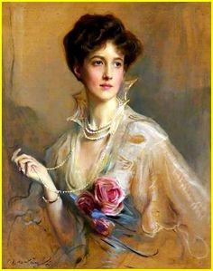 Philip Alexius de László 1869-1937 Hungary - England Violet Rawson, Lady Leconfield 1915  Huile sur toile 90 x 70 cm National Trust, Petworth, West Sussex, England..jpg
