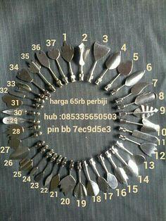 Tools nya ada 37 model..bisa join fb noeng hachibi puding art..mudah sekali memakai alat ini untuk mrlukis di atas jeli
