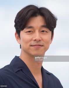 Gong Yoo attends the 'Train To Busan (Bu_San-Haeng)' Photocall at the annual 69th Cannes Film Festival at Palais des Festivals on May 12, 2016 in Cannes, France.
