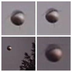 UFO SIGHTINGS DAILY: Metallic #Orb Hovering Over Neighborhood In San Diego, California Sept 2014, #UFO Sighting News.