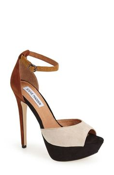 9ad2bb98811f Steve Madden  Yevone  Ankle Strap Sandal (Women) available at  Nordstrom  Suede
