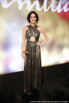 Atrizes de 'Em Família' capricham no look para a festa da nova novela das nove, realizada na noite deste domingo, 2 de fevereiro de 2014, no...