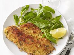 Tilapia Milanese Recipe : Food Network Kitchen : Food Network - FoodNetwork.com