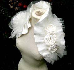 French Vanilla Bridal Wrap por bonziebridal en Etsy bolero novias