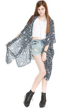 Brandy ♥ Melville | Alexis Kimono Top - Knits - Clothing