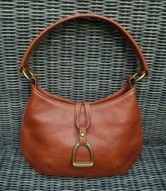 Hey, I found this really awesome Etsy listing at https://www.etsy.com/listing/254676810/vintage-ralph-lauren-stirrup-handbag