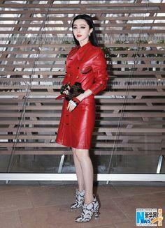 Fan Bingbing in Paris for fashion week  http://www.chinaentertainmentnews.com/2016/03/future-warrior-fan-bingbing-graces.html